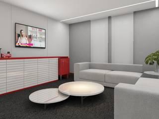 RAFE Arquitetura e Design Scuole moderne MDF Bianco