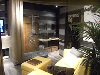BAÑO LOFT: Baños de estilo  de L'ANTIGA PRIMILIA