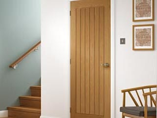 Unfinished oak panelled doors at trade prices Wonkee Donkee XL Joinery Fenêtres & PortesPortes