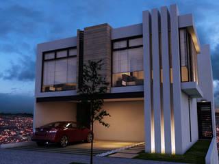CASA MONTERRA 3: Casas de estilo  por OROZCO GIL TALLER DE ARQUITECTURA