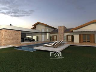 Casa de campo : Casas  por RVA Arquitetura,Eclético