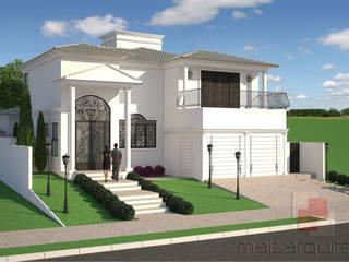 CASA CLÁSSICA: Casas  por Mais Arquitetura 34