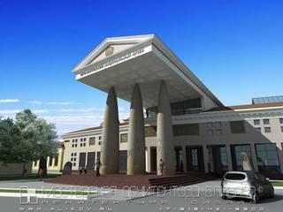 Краеведческий музей в Цхинвале РЮО: Дома в . Автор – Мастерская архитектора Аликова
