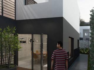 Jardin de style  par A Pino Arquitetos