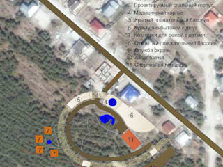 Турбаза в Геленджинке:  в . Автор – Мастерская архитектора Аликова
