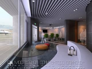 интерьер аэропорта во Владикавказе: Офисные помещения в . Автор – Мастерская архитектора Аликова