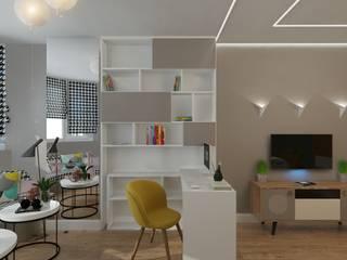 #lookcolor: Детские комнаты в . Автор – Студия дизайна интерьера Fresh Style