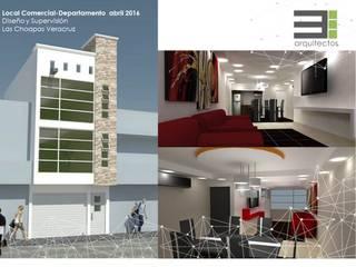 Departamento de 2 Niveles Las Choapas Veracruz México de TRES arquitectos