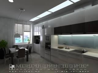 Интерьер квартиры по ул.Коцоева во Владикавказе: Кухни в . Автор – Мастерская архитектора Аликова