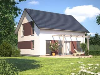 Esprit 120 Gartenansicht: klassische Häuser von Bärenhaus GmbH - das fertige Haus