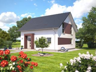 Esprit 120 Eingangsansicht: klassische Häuser von Bärenhaus GmbH - das fertige Haus