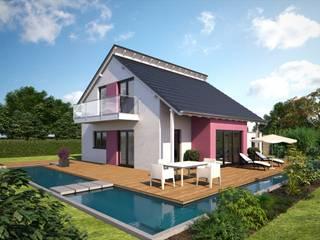 Esprit 125 Gartenansicht: klassische Häuser von Bärenhaus GmbH - das fertige Haus