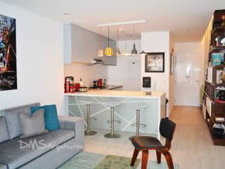 Departamento Barranco Cocinas de estilo moderno de DMS Arquitectas Moderno