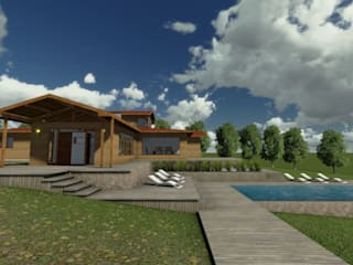 """Vivienda """"La Aurora"""" Casas de estilo rural de CA Arquitectura Rural"""