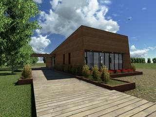 """Sede Vecinal """" La Viñilla"""" Casas de estilo rural de CA Arquitectura Rural"""