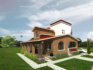 Country style house by Arqternativa Country