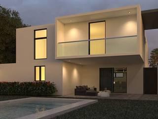 CASA CBR: Casas de estilo moderno por Ar.Co
