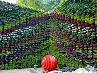 Muro Verde Altavista de Regenera Mx - Fábrica Ecológica Moderno