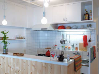 Cuisine de style  par 株式会社ブルースタジオ, Moderne