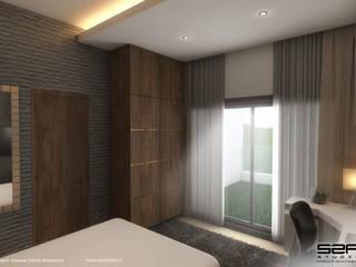 Dormitorios de estilo moderno de S2A studio Moderno