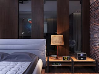 Your royal design Industrial style bedroom Brown