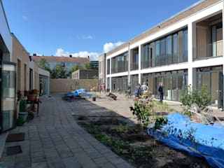Amundsenhofje Moderne huizen van Hulshof Architecten bv Modern