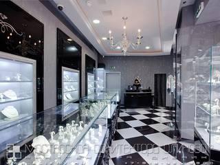 yuvelirnyj_salon_grejs_a_atriume_moskva: Офисы и магазины в . Автор – Мастерская архитектора Аликова