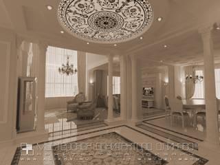 alikovru Интерьер дома на Рублевке МО: Гостиницы в . Автор – Мастерская архитектора Аликова