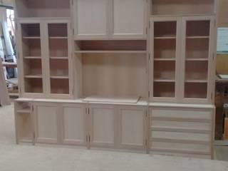 Cooperativa de la madera 'Ntra Sra de Gracia' Living roomStorage Engineered Wood Wood effect