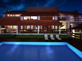 Ana Carolina Cardoso Arquitetura e Design Rumah Modern Kaca