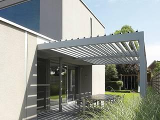 Modern Balkon, Veranda & Teras derraumhoch3 Modern