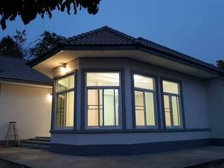 บ้านชั้นเดียว:   by อภิญญารับสร้างบ้านสกลนคร