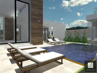 PROJETO GIBRAM Casas modernas por Patrícia Lima - Arquitetura e Design Moderno