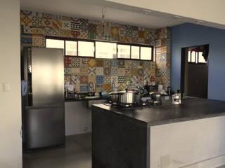 Cozinha Integrada: Cozinhas  por Claudé Pessoa Arquitetura e Interiores