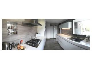 REMODELACION COCINA - MEN Cocinas modernas: Ideas, imágenes y decoración de FANESI & NAVARRO Moderno