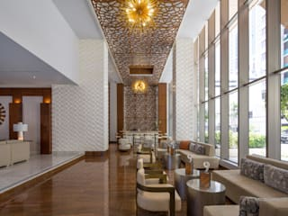 WallArt 3d Wall Decor 'Vaults' in Waldorf Astoria Hotel in Panama:  Houses by WallArt 3D Wall Decor
