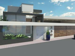 PROJETO MIYAKE Casas modernas por Patrícia Lima - Arquitetura e Design Moderno