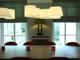 RL-ID Vergaderzaal Restaurant Pavlov Den Haag:  Studeerkamer/kantoor door Robbert Lagerweij Interior Design