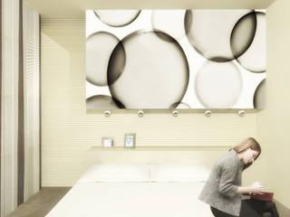 Flavia Benigni Architetto Dormitorios de estilo moderno