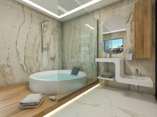 ABDULBALABEY TASARIM OFİSİ – BANYO:  tarz Banyo