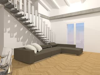 Flavia Benigni Architetto Livings de estilo moderno