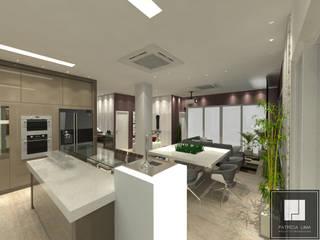 PROJETO AZEVEDO REIS Cozinhas modernas por Patrícia Lima - Arquitetura e Design Moderno