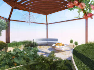 Flavia Benigni Architetto Jardines de estilo moderno