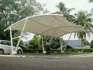 Tenda Membrane:modern  oleh shaka awning, Modern