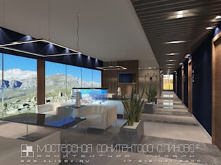 Аэропорт холл: Офисы и магазины в . Автор – Мастерская архитектора Аликова