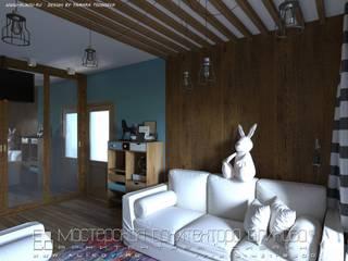 Детская кырдж: Гостиная в . Автор – Мастерская архитектора Аликова