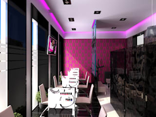 Oficinas y Tiendas de estilo  por Мастерская архитектора Аликова,