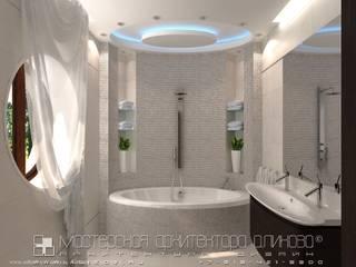 Baños de estilo  por Мастерская архитектора Аликова,