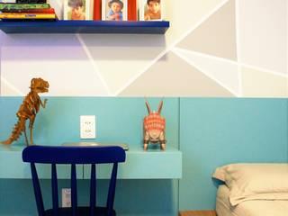 Dormitorios infantiles modernos de Eduardo Lins & Bárbara França - ARQUITETURA Moderno