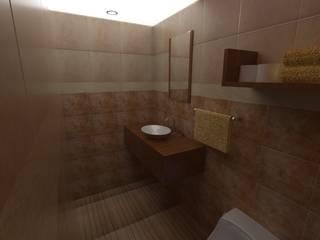 interior baño:  de estilo  por Grupo AGI-7